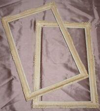 Paire de cadres bois mouluré années 50 style Montparnasse : 50 x 32,5 cm - Frame