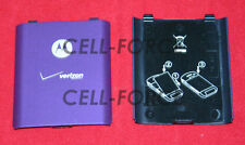 Used OEM Motorola Moto W755 Verizon Purple Replacement Battery Back Cover Door