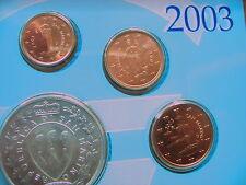SAN MARINO 1 Cent + 2 Cent + 5 Cent 2003 aus dem KMS