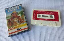 MSX Game - Livingstone Supongo - Opera Soft