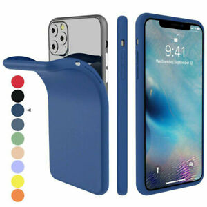For Apple iPhone 11 Pro Max 8 Silicone Case Soft Slim Rubber Gel Thin Back Cover