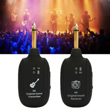 UHF Wireless Gitarre Transmitter Receiver Sender Empfänger für E-Gitarren M7A1