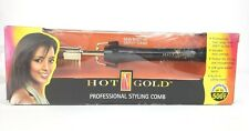 Gold N Hot Professional Styling Comb with Mtr Multi-Temp Regulator