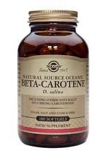 Solgar, Natural Fuente Oceanic beta-caroteno 7mg cápsulas, 180