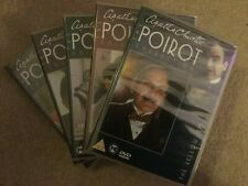 AGATHA CHRISTIE POIROT 54 Disc DVD Collection **SOLD INDIVIDUALLY**