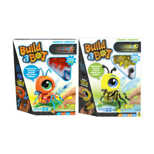 Build A Bot Robot Fire Ant and Bee Play Kids Leopoard STEM Learning Toy Assorted