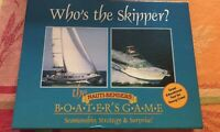 WHO'S THE SKIPPER BOATER'S GAME NAUTI-BENDER SEAMANSHIP STRATEGY AND SURPRISE