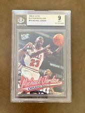 Michael Jordan 1996-97 Ultra Platinum Medallion P-16 BGS 9 MINT /200 *Rare Error
