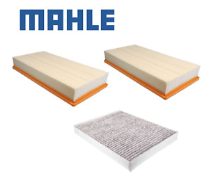 Engine Air Filters + Cabin Filter Kit MAHLE OEM for PORSCHE CAYENNE (2003-2010)