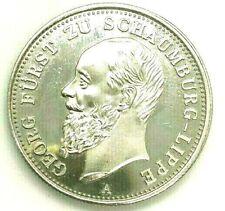 2 Mark Deutsches Reich 1898 Georg Fürst zu Schaumburg-Lippe A