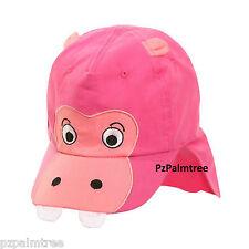 Baby Animal Legionnaire Cap  9 12 18 24m 2-4yr Boy Girl Sun Hat Toddlers Cotton