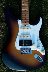 🇯🇵VINTAGE 1970'S JEDSON STRAT MADE IN JAPAN  WITH MAXON PICKUPS PLUS HUMBUCKER