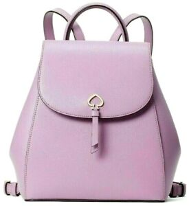test Kate Spade New York Adel Medium Flap Backpack Leather Valerian
