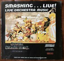 Super Smash Bros Melee: Smashing...Live! Live Orchestra Music Nintendo Power CD