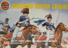 Airfix 1/72 Waterloo British Calvary Soldier Figures With Horses Model Kit 1743