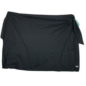 Reel Legends elite comfort NWT black Plus Size 3X moisture wicking skirt UPF 50