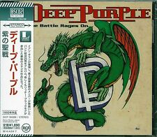 DEEP PURPLE THE BATTLE RAGES ON 2013 JAPAN RMST BSCD2 CD - NEW FACTORY SEALED!
