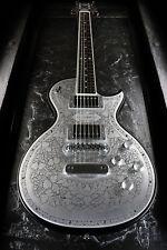 Zemaitis Casimere C22MF Black BK Metal Front Electric Guitar + Gig Bag C22 MF