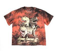 The Mountain 2009 Jerry Lofaro Dinosaur T-Rex Shirt Tie Dye Youth Size Small