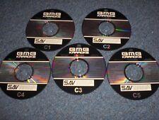 "KARAOKE SAV ""C"" 5 Disc COUNTRY Set"
