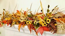 fall garland, Autumn garland, fall decor, garland, thanksgiving garland, 4 foot