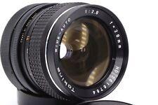 Canon FD rmc Tokina 28mm 1:2 .8 firmemente distancia focal lente gran angular Wide lens