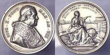 MEDAL PIO PIUS X 1903 1914 YEAR VIII 1911 EXPANSION THE VATICAN OBSERVATORY#
