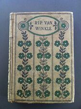 Vintage RIP VAN WINKLE & Other Sketches Washington Irving Hurst & Co Early 1900s