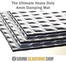 Silent Coat 4mm Extra Bulk Pack 23 Sheets Car Deadening Sound Proofing Mat