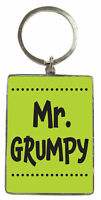 Mr Grumpy Metallic Keyring Lovely Birthday Christmas Gift Idea