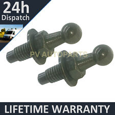 PAIR GAS STRUT END FITTINGS 10MM BALL PIN BLACK MULTI FIT GSF53