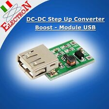 DC-DC Step Up Converter  Boost Module USB Charger 0.9V-5V to 5V 600MA mobile