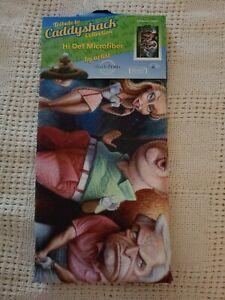 TRIBUTE TO CADDYSHACK COLLECTION HI DEF MICROFIBER GOLF TOWEL