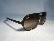 Ray-Ban RB 4125 Cats 5000 710/51 Tortoise Frame Brown Lenses Sunglasses