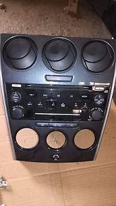 Radio CD Autoradio CQEM4570AK MAZDA 6 KOMBI GY GG 2.0 DI CD Wechsler 6-fach