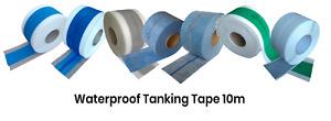 Waterproof Tanking Tape Wet Room System Shower Seal AQUA BUILD Multi choice 10M