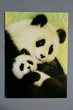 R&L Postcard: Athena 9774 Panda Bear & Cub