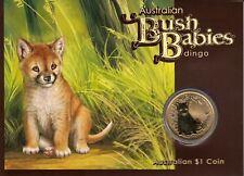 AV-VD Australien 2011 1 Dollar Bush Babies Dingo + Aufsteller HBK2