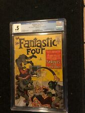 Fantastic Four #2 CGC .5 (Marvel) 1st Skrulls 1st Daily Bugle Mega Key! Movie