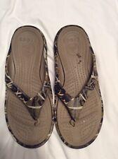 Mens Crocs Sandals Flip Flops Camo Size 12