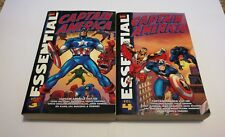 The Essential Captain America Vol. 3  & Vol.4  Marvel TPB   Free Shipping
