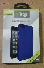 iFrogz Blue Luxe Lean Cover for iPhone 5/5s