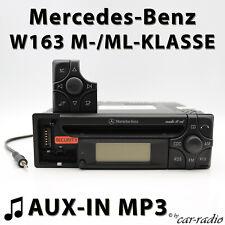 Mercedes Audio 10 CD MF2199 AUX-IN MP3 W163 Radio M- ML- Klasse CD-R Autoradio
