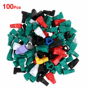 """100 Ethernet Network RJ45 Cable Sleeve Cord Organizer Covers Protection Wire 1"""""""
