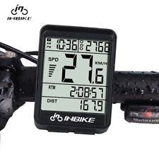 INBIKE IN321 Bicycle Computer Waterproof Wireless LCD Odometer Bike Speedomet XX