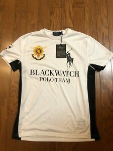 Polo Ralph Lauren polo BLACK WATCH big pony dri fit athlectic shirt Size Small