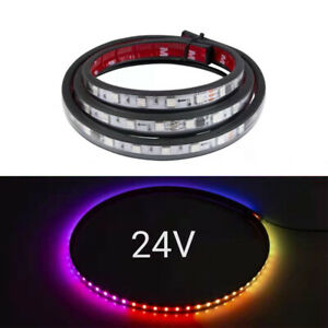 Truck Trailer Night LED Side Colour Light Waterproof Strip Lamp 24V Signal Light