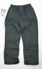 GIRLS YOUTH SKI SNOW BOARD PULSE PULL ON INSULATED PANT NEW XLARGE BLACK