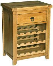 Oak 10-19 Bottles Wine Racks