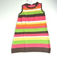NWT Gymboree Stripe Sweater Jumper Dress 7 Fall for Autumn